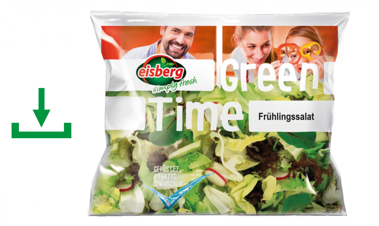 Retail Frühlingssalat